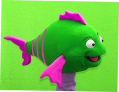Greta the Fish puppet, Puppet for sale