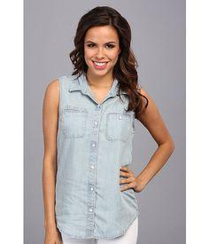 Lucky Brand Sleeveless Tencel Shirt