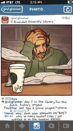 The Hobbit social media AU by cargsdoodles | The Hobbit Fan Art ...anddd another amazing picc, I love ittt