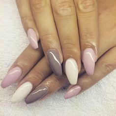 100 spring nail designs that will make you excited for spring page 31 Perfect Nails, Gorgeous Nails, Pretty Nails, Dream Nails, Love Nails, My Nails, Pastel Nails, Cute Acrylic Nails, Dipped Nails