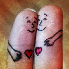 Finger hug!