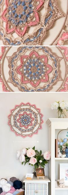 32 Marvelous Image of Crochet Dreamcatcher Pattern Crochet Dreamcatcher Pattern 15 Crochet Dream Catcher Patterns And Tutorials 2017 Crochet Feather, Crochet Art, Crochet Crafts, Crochet Doilies, Crochet Projects, Doilies Crafts, Crochet Afghans, Crochet Blankets, Crochet Decoration