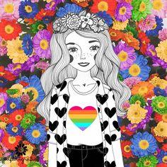 Sim! O amor vence!!! ❤️Mais amor e respeito para que nosso mundo seja um lugar melhor para viver. ❤️❤️❤️❤️ | Cód. 0059 #aflorigrafia #lovewins #maisamorporfavor #communityfirst