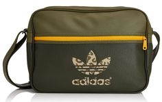 b3e41087fbd8 Adidas Airliner Classic Street Bag RRP £45.04 SAVE 61% NOW £17.50 at Amazon