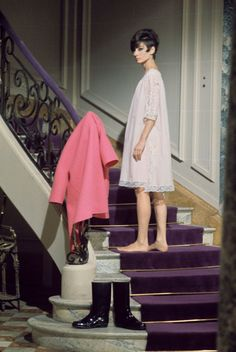 Audrey Hepburn in How to Steal a Million. Directed by William Wyler 1966