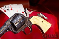 Guns of the Old West Colt Single Action Army, Cowboy Action Shooting, Cool Guns, Cold Steel, Old West, Revolver, Old And New, Firearms, Hand Guns