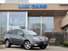 2008 #Acura MDX Tech Pkg Rear DVD   Lux Cars Chicago   88 E Dundee Road Buffalo Grove, Illinois 60089   847-947-2900   http://www.luxcarschicago.com #LuxCarsChicago #used #cars #IL #BuffaloGrove #SUV