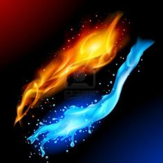 The Elements Of Fire&Water - dvarg StockPhoto