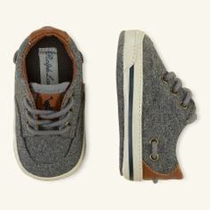 Vance Lace-Up Sneaker - Layette Shoes. Baby boy skater shoes   #shoes #baby #fashion #skater