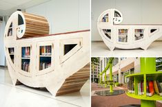 """""""Nine Artist-Designed Miniature Book Sharing Libraries Appear in Indianapolis"""" by Christopher Jobson   October 19, 2015 via thisiscollosal.com"""