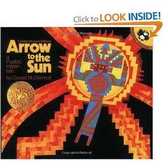 Amazon.com: Arrow to the Sun: A Pueblo Indian Tale (9780140502114): Gerald McDermott: Books
