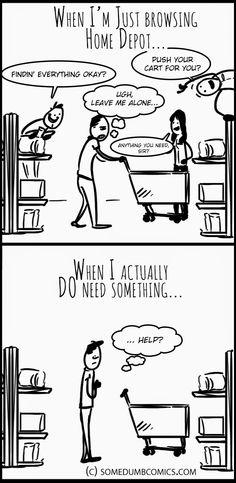 Some Dumb Comics: Home Depot...