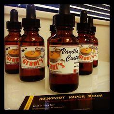 Grant's Vanilla Custard #ejuice. Really awesome!