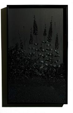 Black Mirrors by all things paper, via Flickr