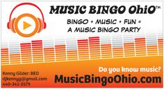 Getting ready to launch July Music Bingo, Bingo Party, Music Party, Good Music, Did You Know, Ohio, Product Launch, Fun, Columbus Ohio