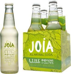 JOiA Lime, Hibiscus & Clove Soda - good  by itself, even better mixed with artisanal gin (e.g., Farmers Botanical Gin or Citadelle)