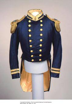 Civil War naval uniform coat of Captain James Harman Ward. :: Connecticut History Online