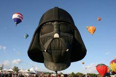 Darth Vader hot air balloon reno balloon races 2012