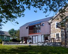 Farm Addition in Elverson, Pennsylvania by Wyant Architecture