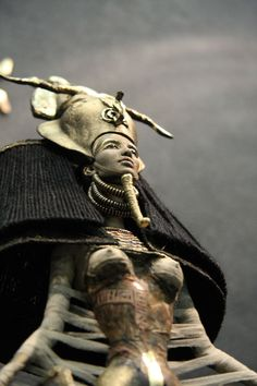 """Ancient Egypt. Meretseger, meaning """"she who loves silence"""", was cobra-goddess of tomb builders and protector of royal tombs. She was considered to be both a dangerous and merciful goddess."""
