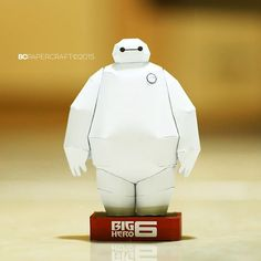 Big Hero 6 - Baymax Paper Craft