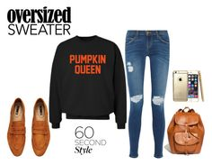 """""""Pumpkin Queen"""" by itsgirliecici ❤ liked on Polyvore featuring CO, Current/Elliott, Madewell and H&M"""