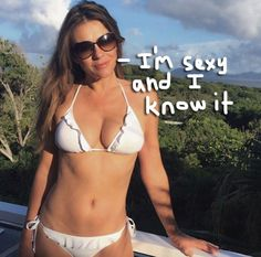 Elizabeth Hurley Reveals Her Secret To Looking Bangin' At 50!