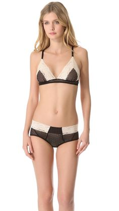 cd25214f21 Samantha Chang Lingerie Meet Me at Midnight Triangle Bralette