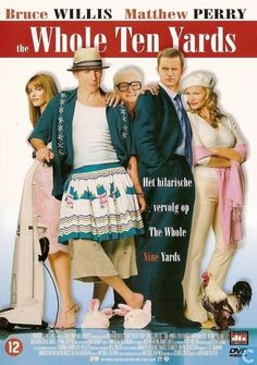 THE WHOLE TEN YARDS DVD w/BRUCE WILLIS & KEVIN POLLAK