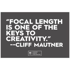 @cliffmautner during #cpc2014 in Vancouver. #quotes by photoconvention
