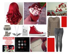 """""""Take Me Out, Finish This Waste Of A Life, Everyone Gather Around For A Show, Watch As This Man Disappears As We Know, Do Me A Favor And Try To Ignore, As You Watch Him Fall Through A Bleeding Trapdoor"""" by i-am-sherlocked27 ❤ liked on Polyvore featuring House of Harlow 1960, Converse, Journee Collection, ATM by Anthony Thomas Melillo, Uniqlo, maurices and MusicMadeToFashion"""