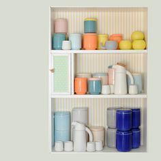 stackable ceramics by Tanata