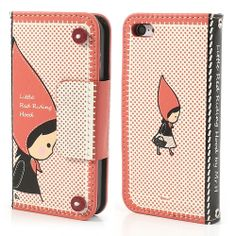 Mr.H Little Red Riding Hood Leather #Wallet Case for #iPhone5c