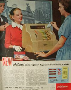 old cash register advertising - Google Search
