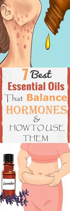 Imbalanced hormones cause weight gain, depression & mood swings. Balance them with these essential oils!