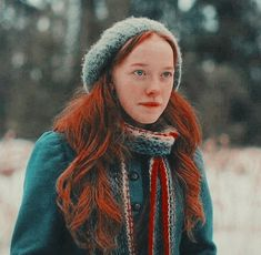 i'm sorry but anne's long hair is actually BEAUTIFUL like i wish i had her hair😍💓 Gilbert Blythe, Anne Shirley, Lucas Jade Zumann, Stranger Things, Gilbert And Anne, Anne White, Amybeth Mcnulty, Anne With An E, Cuthbert