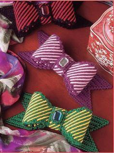 Girls Accessories Plastic Canvas E~Pattern