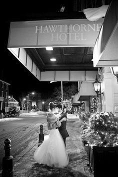 Elegant Winter Wedding - Bridal Hair by Jacki Norrie #weddingtresses #JackiNorrie    dani fine Photography