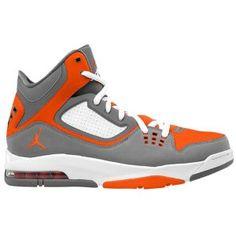 Jordan Flight 23 RST - Men's - Basketball - Shoes - Cool Grey/Team Orange/White $120