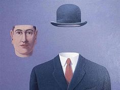 The Pilgrim. By Rene Magritte was an internationally acclaimed surrealist artist of all time