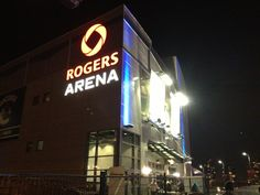 Rogers Arena in Vancouver, BC