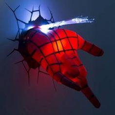 Marvel 3D Wall Nightlight - Spiderman Hand : Target