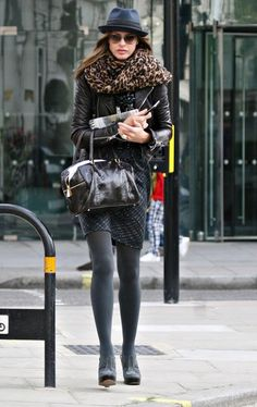 Trinny Woodall Leaving The BBC Studios In London
