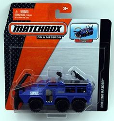 Matchbox On A Mission Real Working Rigs - Rolling Raider