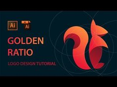 Learn How to Design a Logo With Golden Ratio | Adobe Illustrator Logo Tutorials - YouTube
