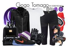 """""""Gogo Tomago +"""" by leslieakay ❤ liked on Polyvore featuring Belk & Co., Soma, Black Rivet, NIKE, women's clothing, women, female, woman, misses and juniors"""