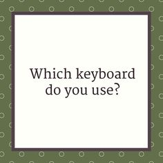 Which keyboard do you use and would you recommend? I've heard good things about split keyboards and mechanical keyboards, but I have no experience with either of those.