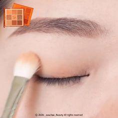 Korean Makeup Look, Asian Eye Makeup, Edgy Makeup, Eye Makeup Steps, Korean Natural Makeup, Skin Makeup, Korean Makeup Tips, Eyeshadow Makeup, Asian Eyeshadow