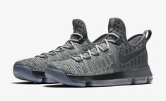outlet store 8213c 025b2 Latest and Cheapest Nike KD 9 Battle Grey October 29 2016 843392 002 · Kevin  Durant ShoesKevin Durant Basketball ShoesJordan 4Air ...