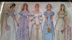 Vintage Simplicity 1971 Wedding Gown Pattern 9825 Size 12